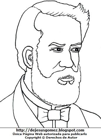 Imagen de José Gálvez para colorear, pintar o imprimir. Dibujo de José Gálvez hecho por Jesus Gómez