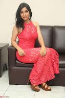 Sakshi Kakkar in Red Legsplit Sleeveless Gown at Dare movie Press meet ~  Exclusive 057.JPG