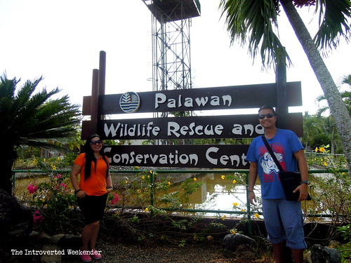 Puerto Princesa Travel Guide: at the entrance of the Palawan crocodile conservation center in Puerto Princesa City