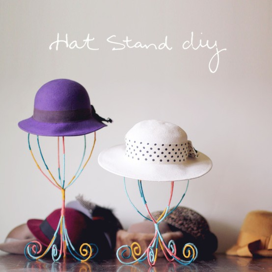 expositor, sombreros, stands, hats, diys, manualidades
