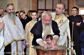 Botezul pruncului Ana Teodora, Gherla-Cluj