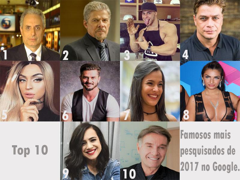 Top 10  Saiba quais foram os dez artistas mais pesquisados no Google em  2017 👀 5c0e8b89dc