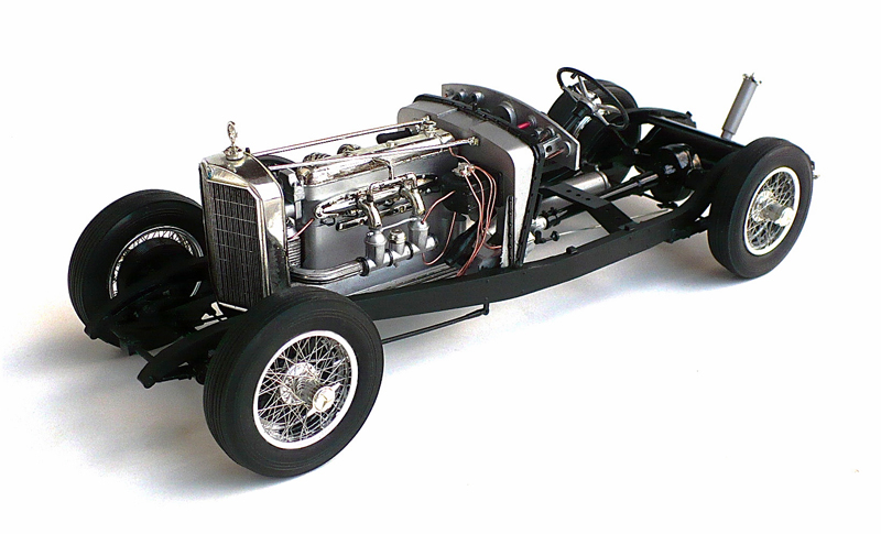 The great canadian model builders web page mercedes benz for Mercedes benz ss