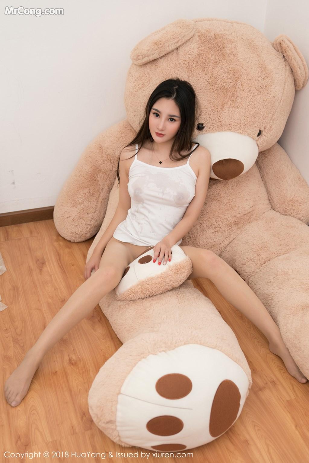 Image HuaYang-2018-03-02-Vol.034-Xiao-Tian-Xin-Candy-MrCong.com-035 in post HuaYang 2018-03-02 Vol.034: Người mẫu Xiao Tian Xin (小甜心Candy) (41 ảnh)