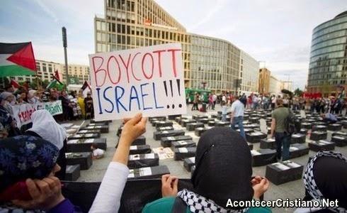 Protestas anti-israelíes en Berlín, Alemania