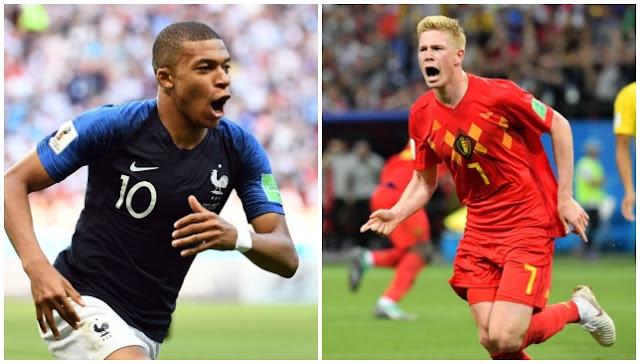 Prediksi Pertandingan Malam Ini Perancis Melawan Belgia