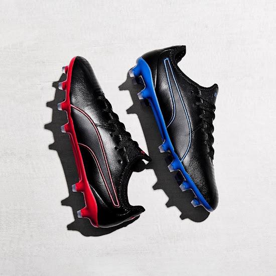 per conto di sciolto identificazione  Black / Red & Black / Blue Puma King Pro Boots Released - Footy Headlines