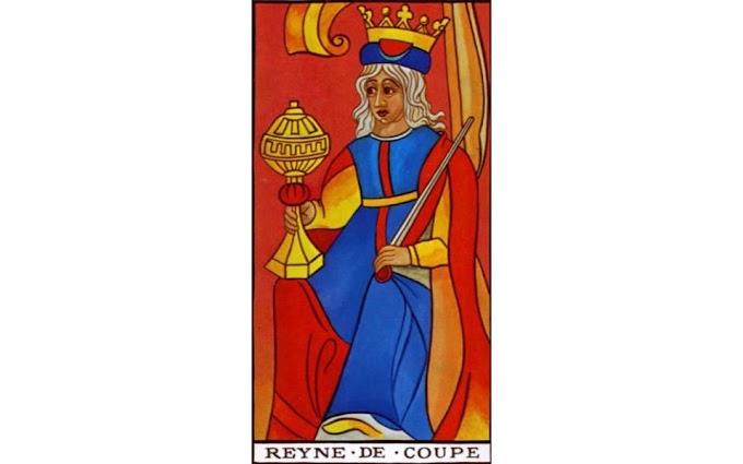 La Signification Exacte De la Reine De Coupe Du Tarot De Marseille