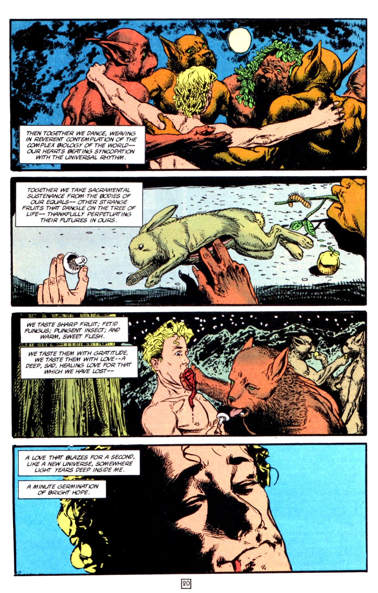 Read online Animal Man (1988) comic -  Issue #66 - 22