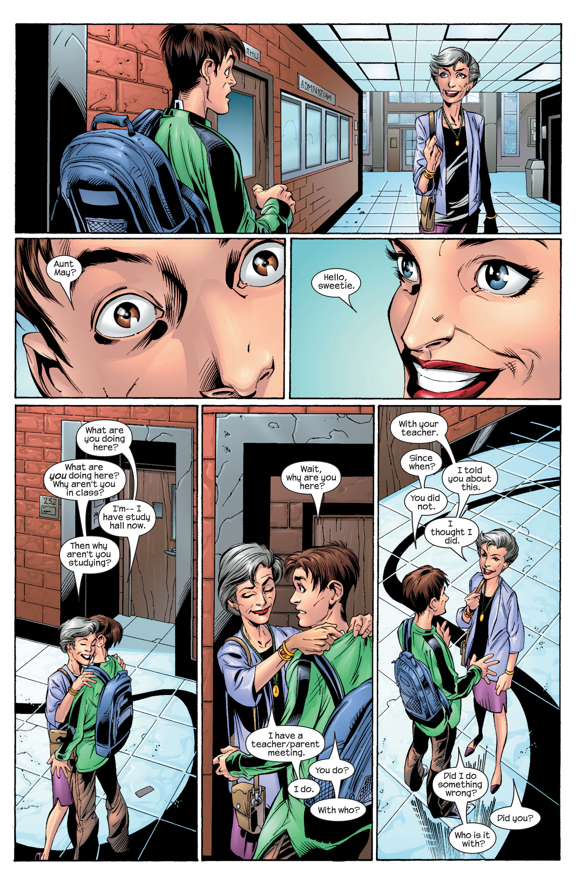 Read online Ultimate Spider-Man (2000) comic -  Issue #28 - 7