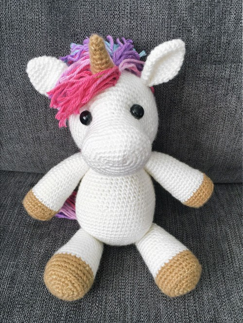 Jazzy the Unicorn - Free Amigurumi Pattern