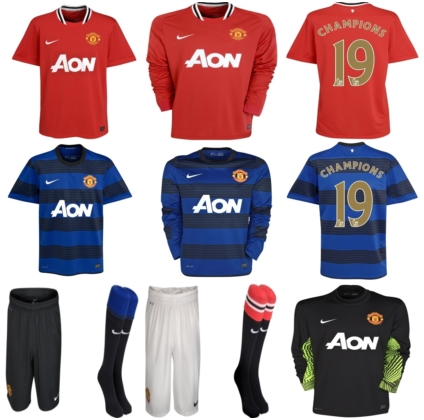 English Premier League Logo Wallpapers 2011 Football Soccer Photos premier league Manchester United new home and away kits for 2011 2012 424x420