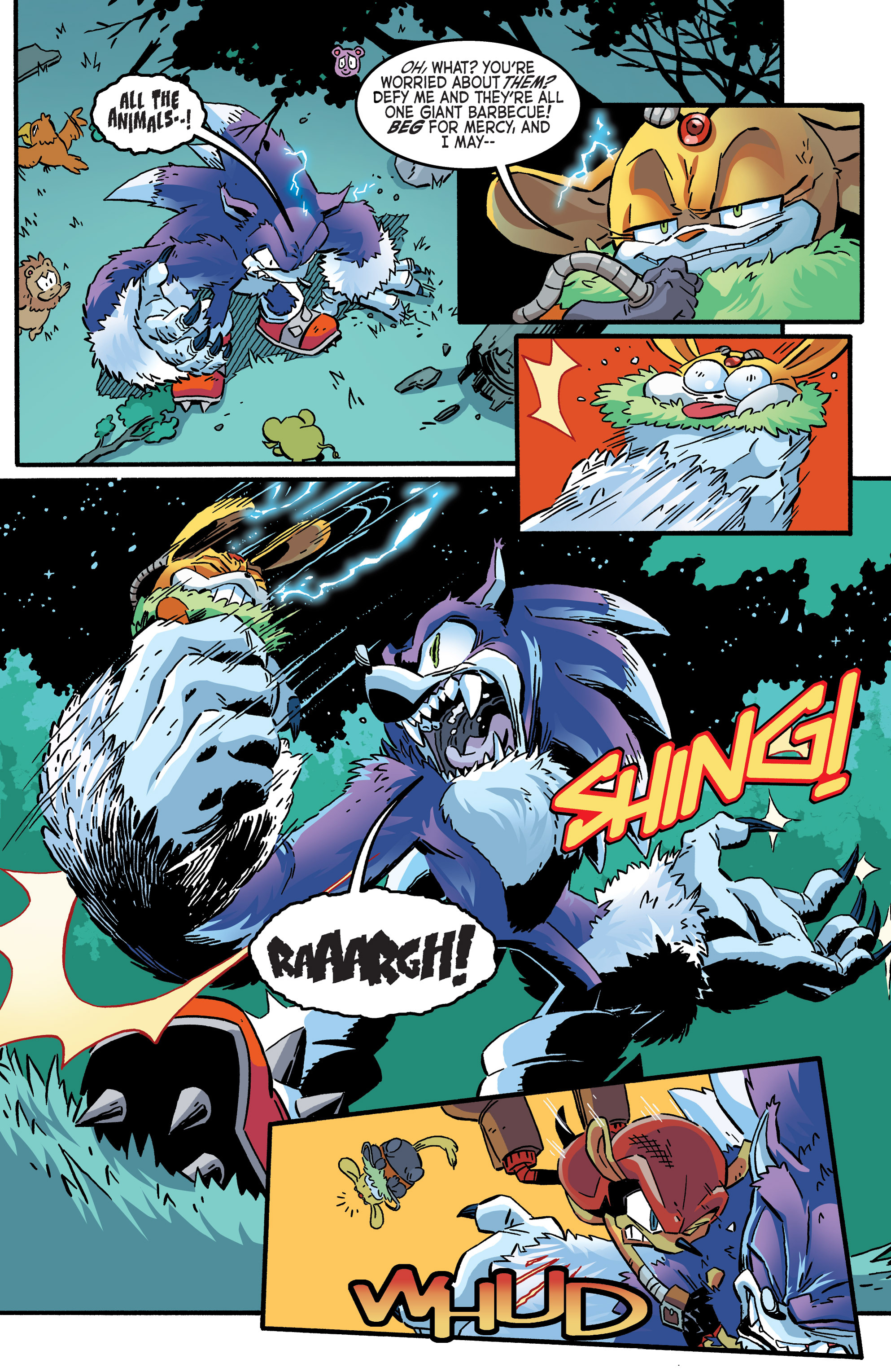 Read online Sonic The Hedgehog comic -  Issue #265 - 8