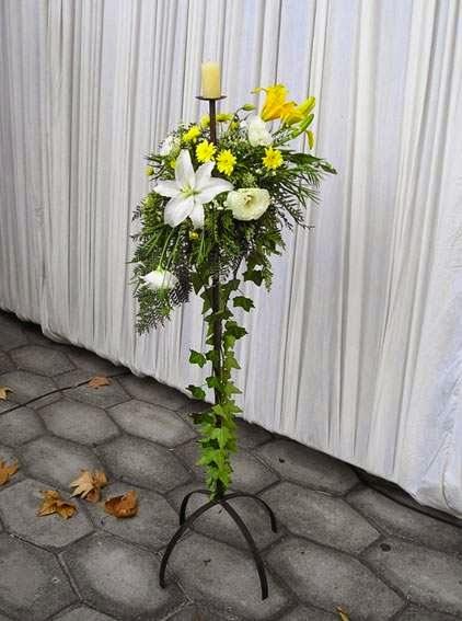 Muyamenocom Arreglos Florales Con Pedestal Parte 1