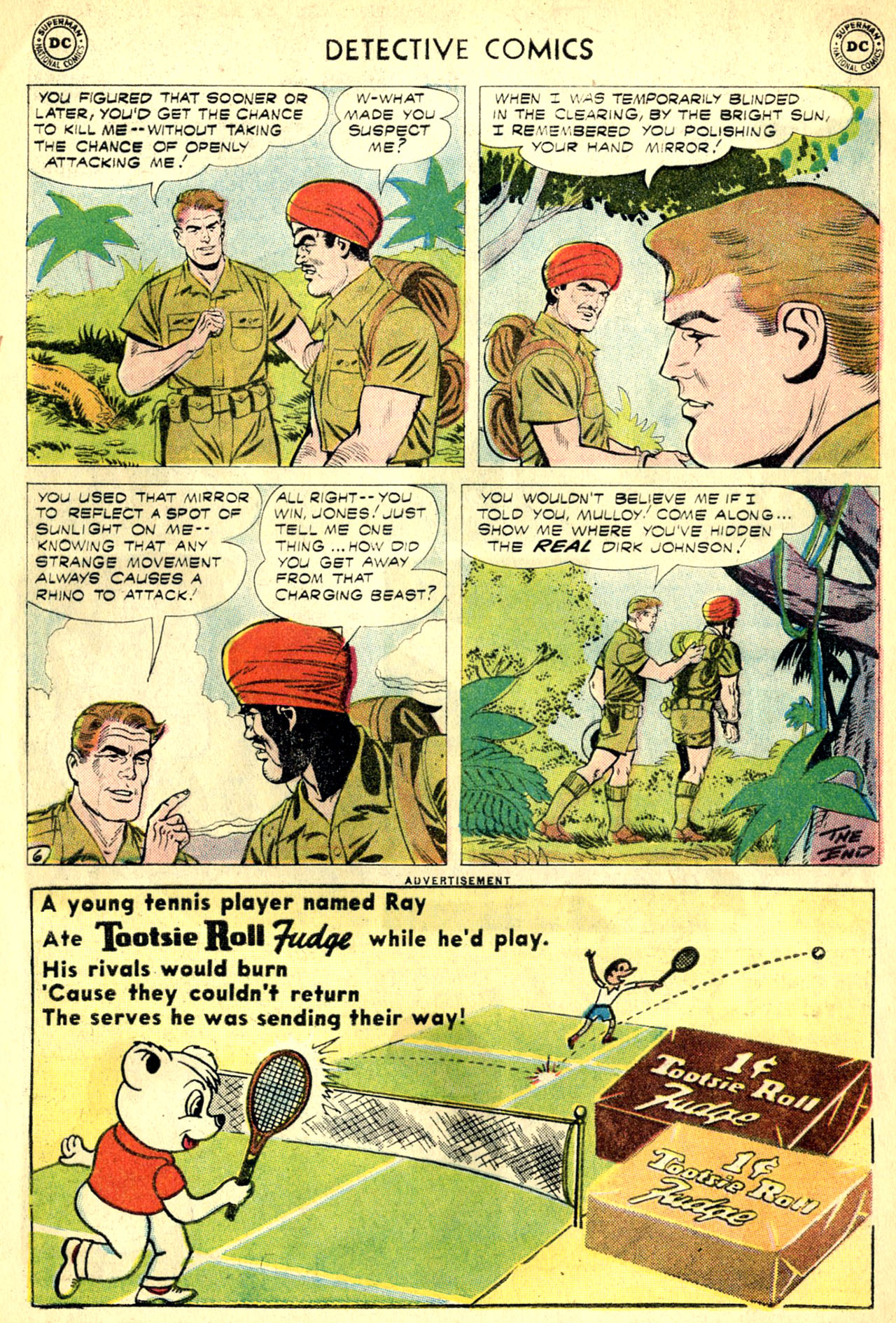 Read online Detective Comics (1937) comic -  Issue #270 - 32