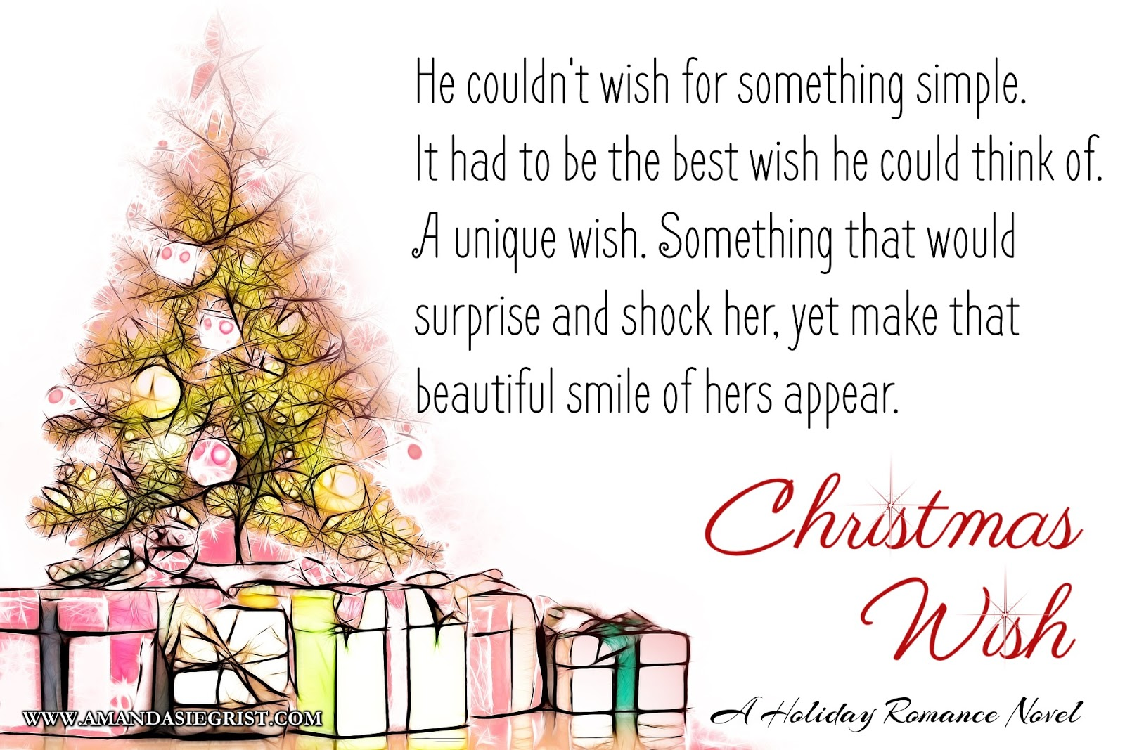 Romance Reviews Today Blog: Promo: CHRISTMAS WISH by AMANDA SIEGRIST