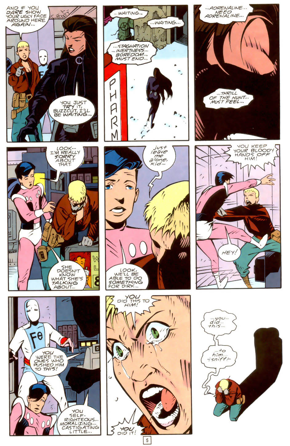 Legion of Super-Heroes (1989) 36 Page 5