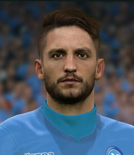 PES 2017 Faces Dries Mertens by Sameh Momen