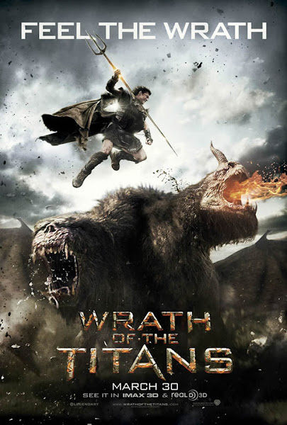 Poster Of Wrath Of The Titans 2012 720p Hindi BRRip Dual Audio Full Movie Download