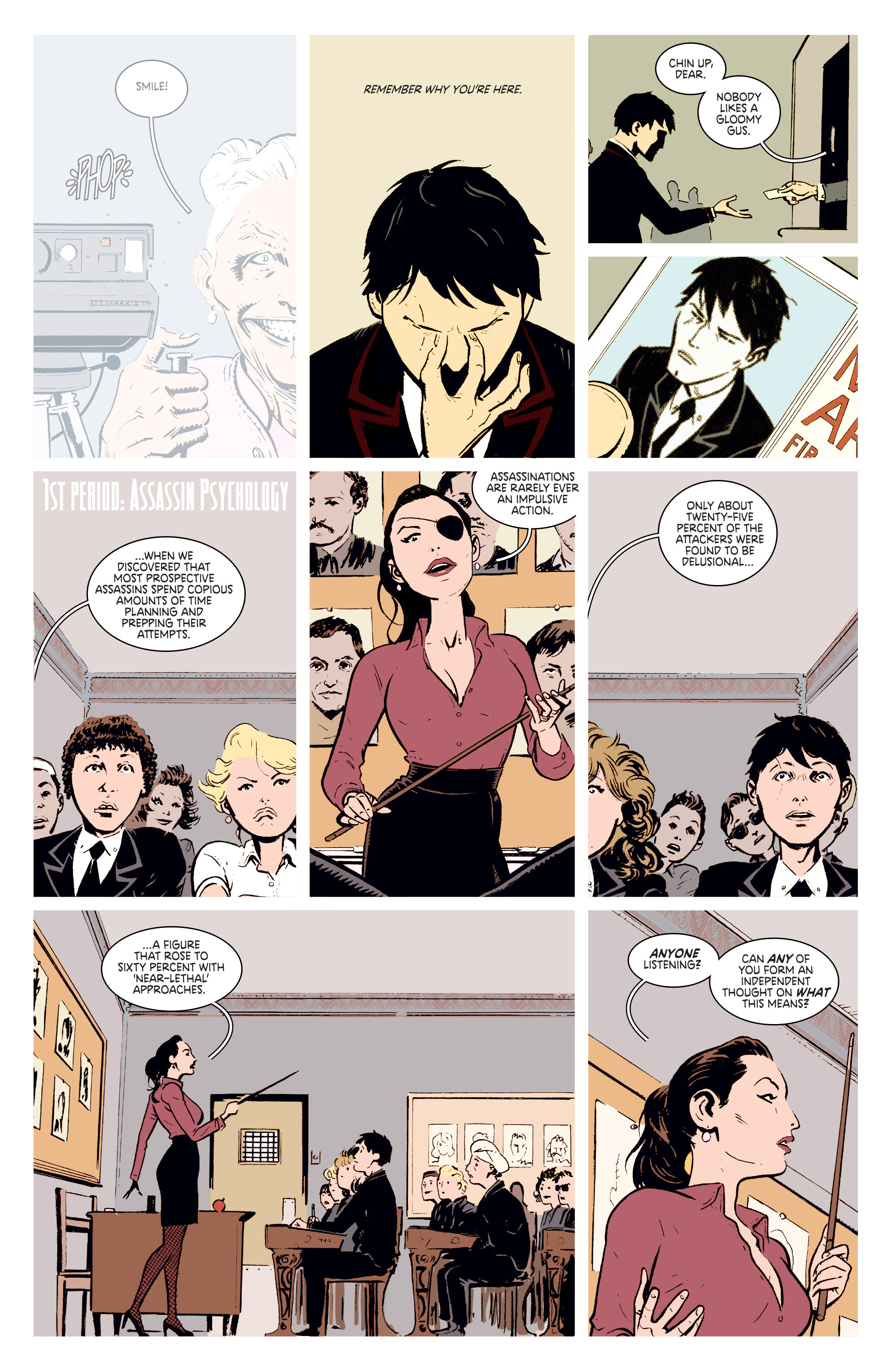 Read online Deadly Class comic -  Issue #2 - 10