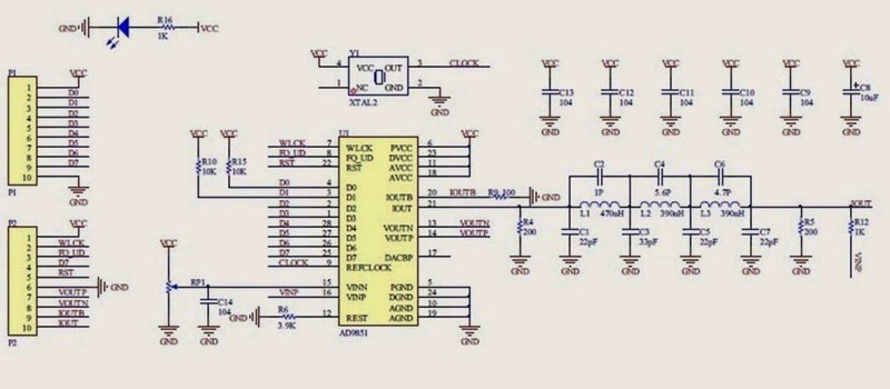 The Answer is 42!!: AD9850 Signal Generator
