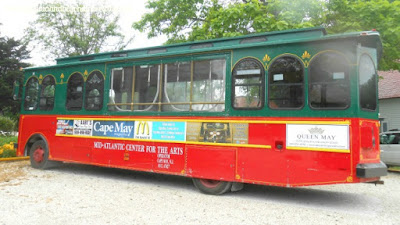 Cape May Trolley Tours in Cape May New Jersey