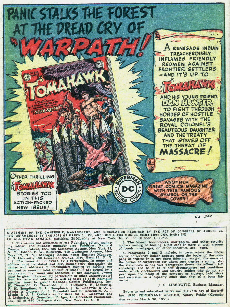 Read online All-Star Comics comic -  Issue #57 - 42