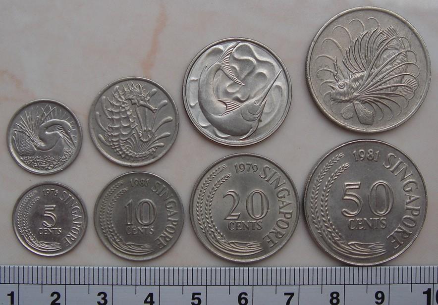 Gambar Uang Koin Singapura Benda Antik Langka Uang Koin Kuno Luar Negri