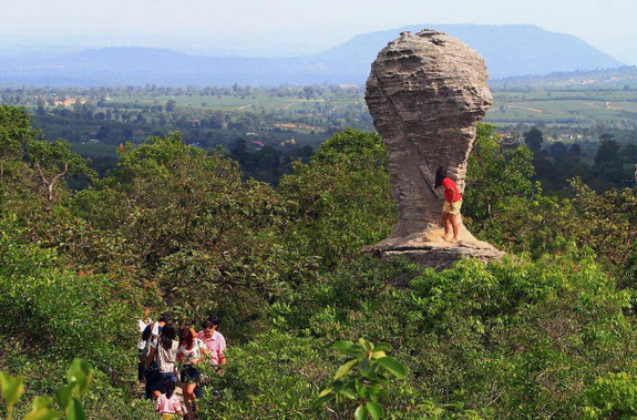 There's World Cup trophy-shaped rock in Thailand
