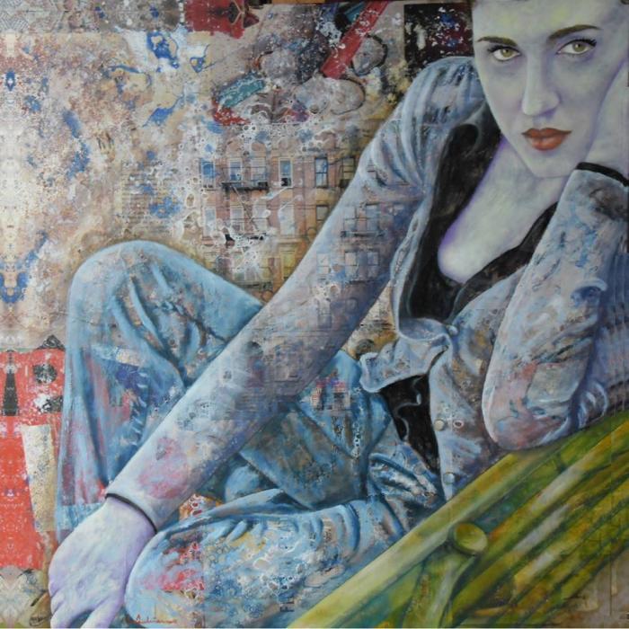 Итальянский художник. Leonardo Vecchiarino