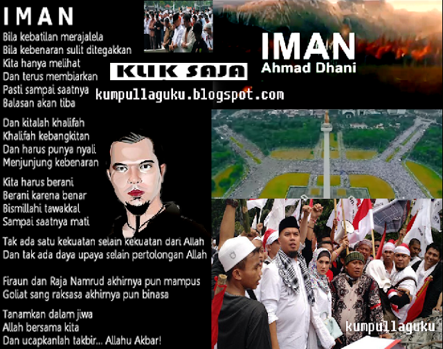 Lagu IMAN Ahmad Dhani Terbaru