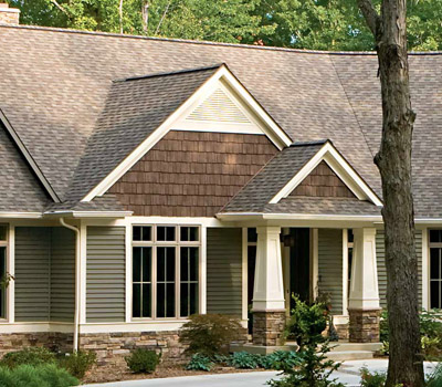 Energy saving tips from house smart home improvements for Vertical siding options