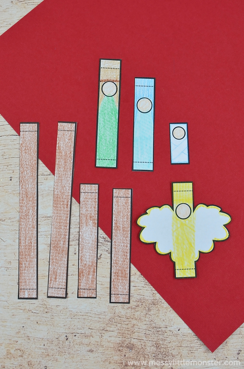 nativity christmas crafts for kids