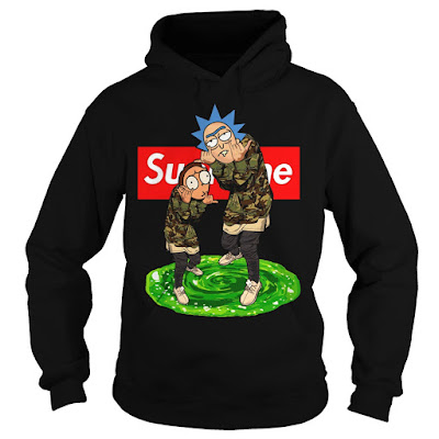 rick and morty supreme hoodie, rick and morty supreme crewneck, rick and morty supreme sunfrog
