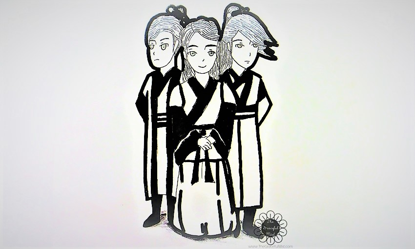 Moon Lovers - Scarlet Heart Ryeo - South Korean Drama K-Drama, IU, Lee Joon Gi, Kang Ha Neul, Hong Jong-Hyun - K-Drama Reviews - Fan Art by Karlo G. (K-Drama Review by @TheGracefulMist - www.TheGracefulMist.com)