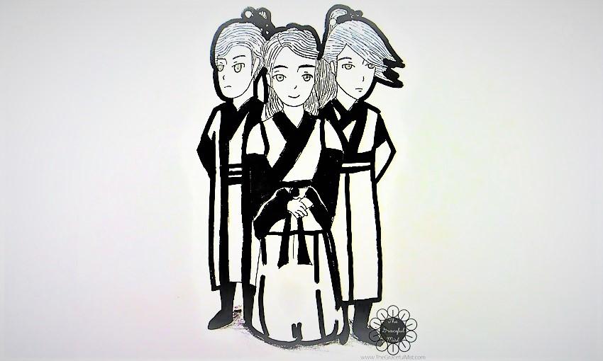 Moon Lovers - Scarlet Heart Ryeo - South Korean Drama K-Drama, IU, Lee Joon Gi, Kang Ha Neul, Hong Jong-Hyun - K-Drama Reviews - Fan Art by Karlo G. (K-Drama Review by @TheGracefulMist - www.TheGracefulMist.com)