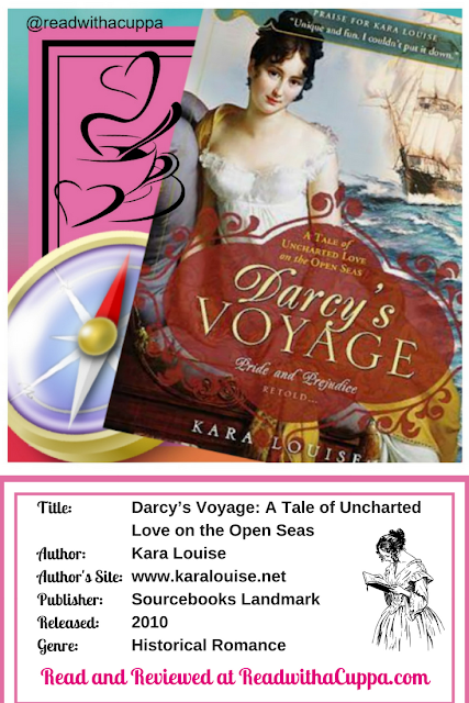 Read the book review for Darcy's Voyage by Kara Louise at https://www.readwithacuppa.com/2018/06/darcys-voyage-kara-louise.html
