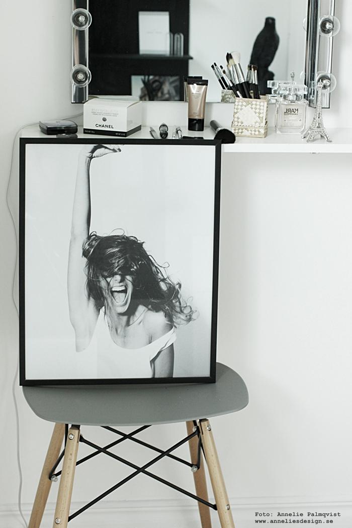 annelies design, webbutik, webshop, nätbutik, inredning, fotokonst, photoart, via martine, foto, tavla, tavlor, poster, posters, print, prints, walk in closet, sminkhörna, smink, make up hörna,