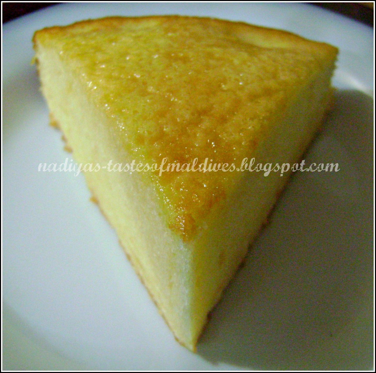Nadiyas tastes of maldives another gerikiru boakibaa or sweetened another gerikiru boakibaa or sweetened condensed milk cake forumfinder Choice Image