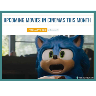 Movies Coming To Cinemas February 2020