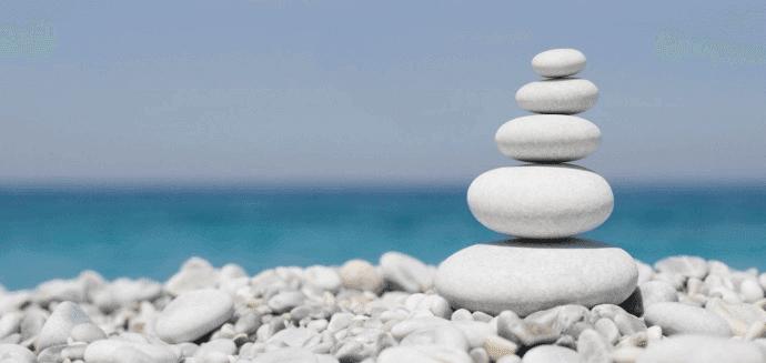 Pedras em Equilíbrio