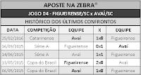 LOTECA 696 - HISTÓRICO JOGO 04