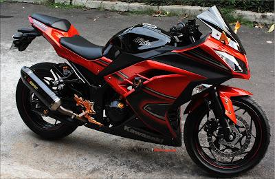 Kawasaki Ninja 400R nice bike