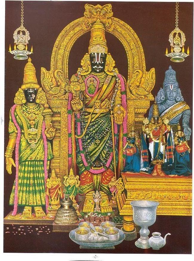 Sri Parthasarathyswamy Temple Main Deity