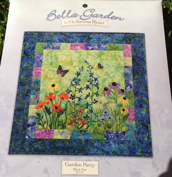 Sew Much Quilt Mckenna Ryan - Bella Garden