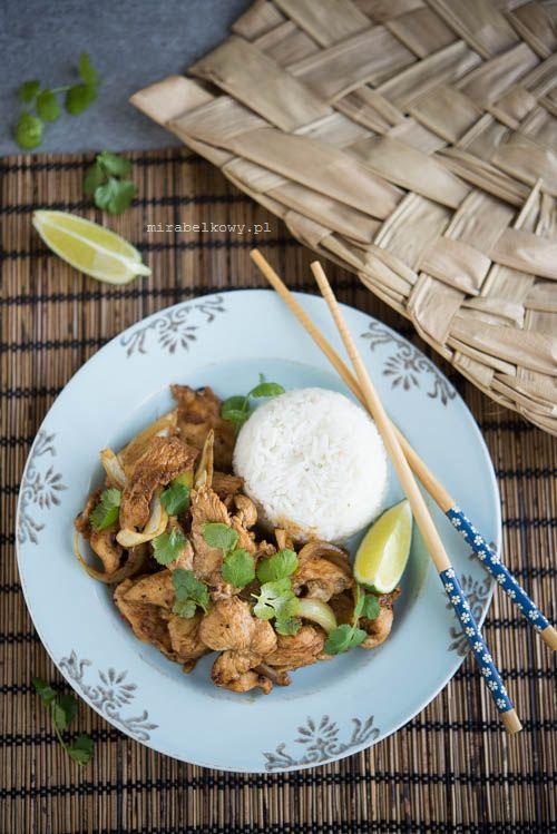 Mirabelkowy Blog Kurczak Smażony Z Pastą Tamaryndową