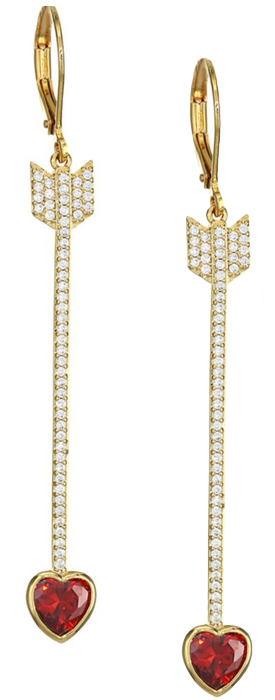 Kate Spade New York Romantic Rocks Linear Earrings