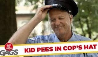 Funny Video – Boy PEES On Cop Prank