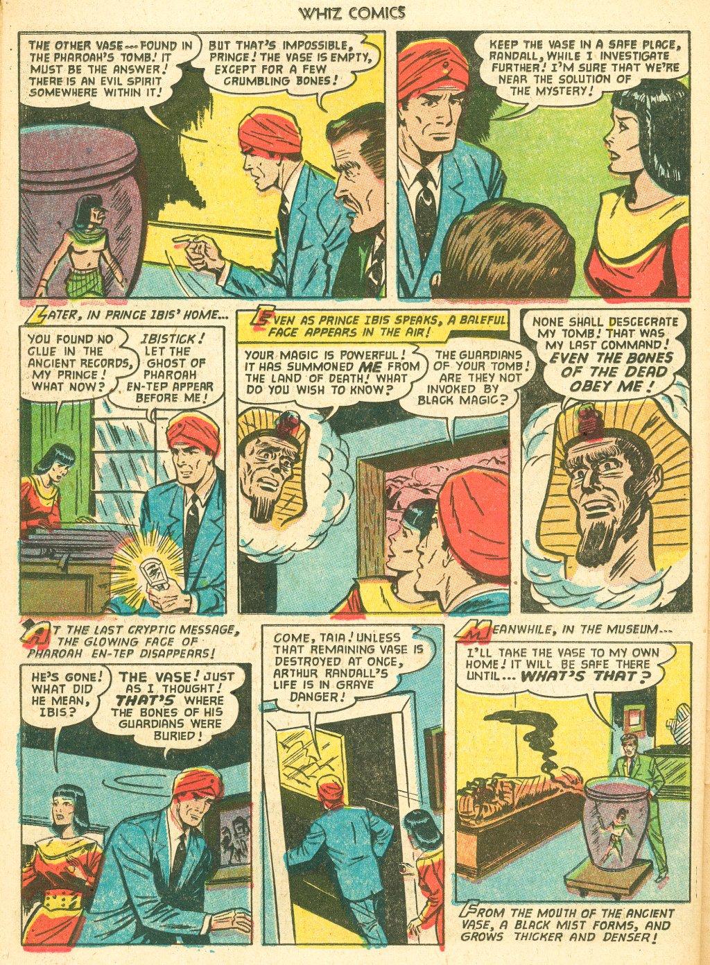 WHIZ Comics #155 #156 - English 26