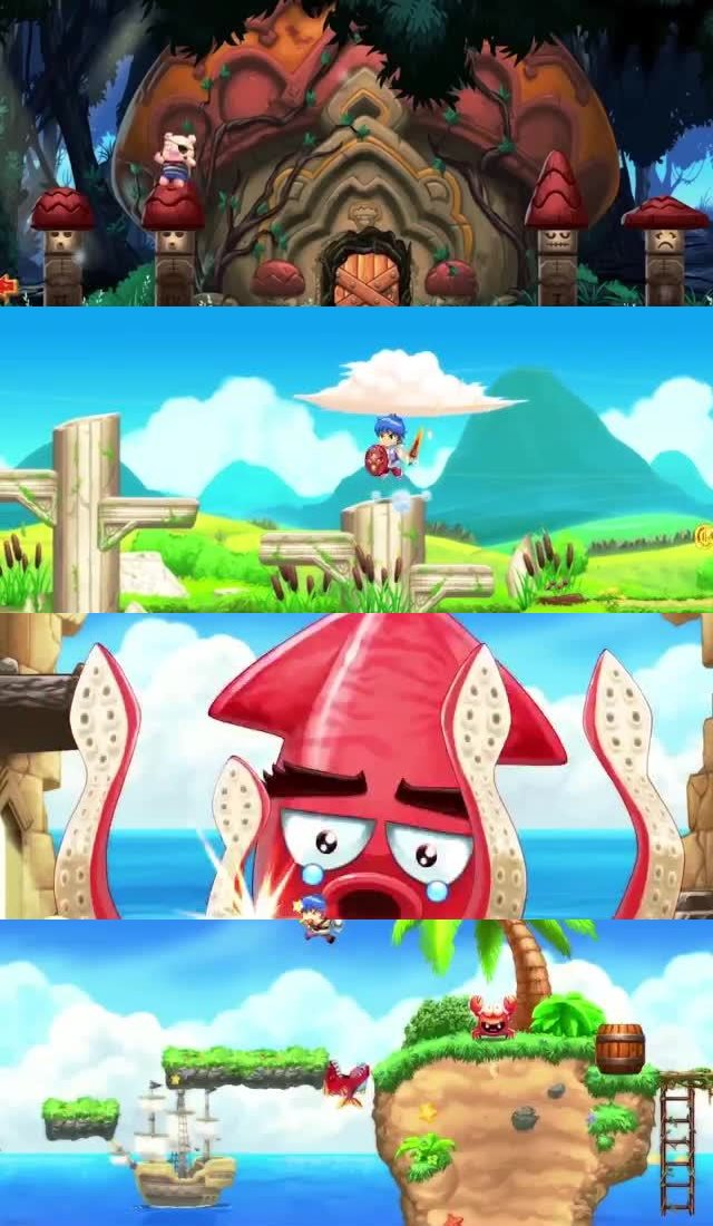 50 UPCOMING NINTENDO SWITCH GAMES OF 2018 36. Monster Boy And The Cursed Kingdom